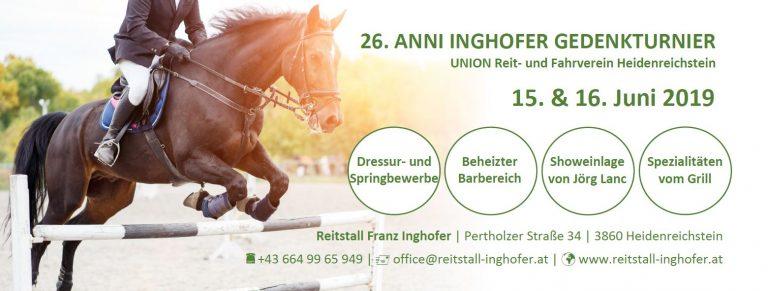 Anni Inghofer Gedenkturnier